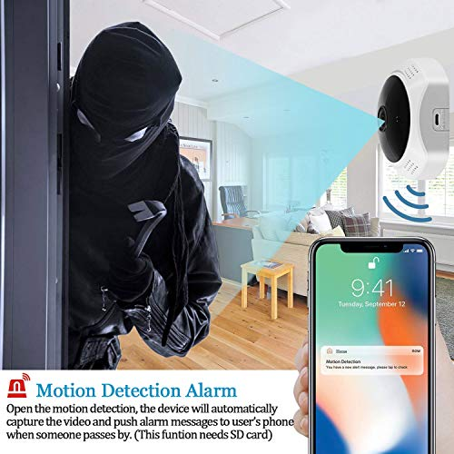 3.0MP Home Security Camera, 360°Panoramic
