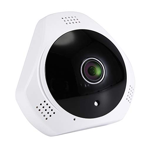 3.0MP Home Security Camera, 360°Panoramic Camera,IP Camera Fisheye,WiFi Camera,Home Security Systems Night Vision/Two Way Audio/Motion Detect Baby/Pet/Elder Monitor