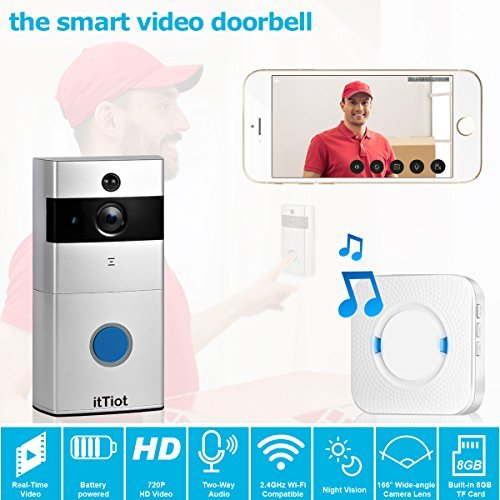 itTiot Video Doorbell, Smart Doorbell