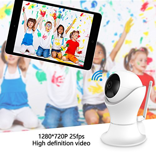 Gogloo Home Camera - 1080P HD Dome Security Camera, 360° Rotatable, Two-Way Audio, Night Vision, Motion Detection - for Home, Baby, Elder, Pet