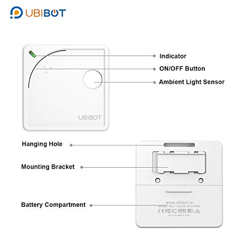 UbiBot WiFi Wireless Thermometer, Remote
