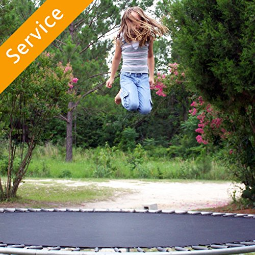 Outdoor Trampoline Assembly - No Enclosure