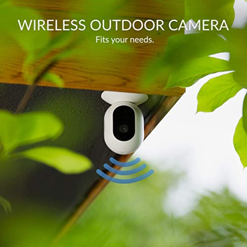 Kami 1080P Wire-Free Home Camera Kit, Wireless Outdoor Battery Security Camera with IP65, Motion Detection, Night Vision, Two-Way Audio and 6 Months Free 7-Day Cloud Storage Service via Kami APP