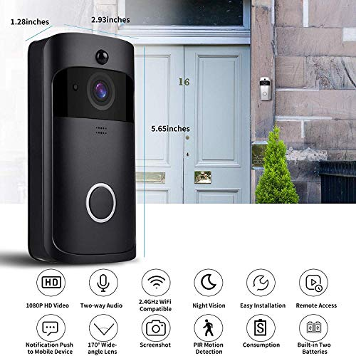 Smart Wireless WiFi Video Doorbell