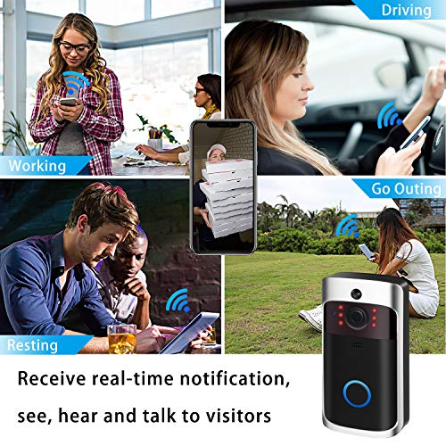 Video Doorbell Camera Wi-Fi with