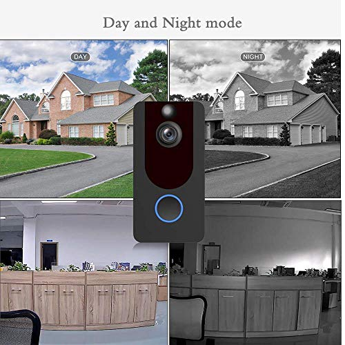 Wireless Video Doorbell, Smart WiFi