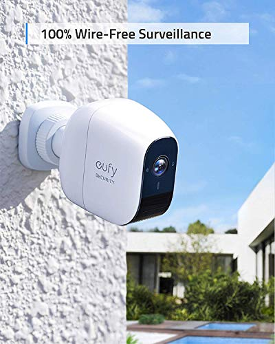 Eufy Security Eufycam E Security Camera (Region A), Wireless, 1-Year Battery Life, 1080P, 2-Way Audio, Ip65 Weatherproof, Indoor & Outdoor Use, Add-On Camera, Requires Homebase/E (Region A)