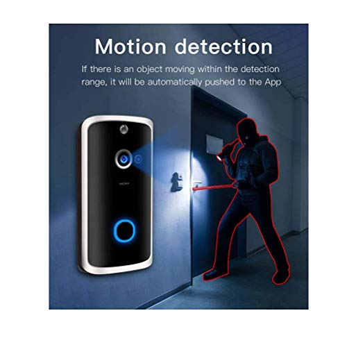 Video Doorbell with Wireless Chime,16GB