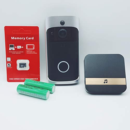 WIFI Video Doorbell,Smart Wireless 720p