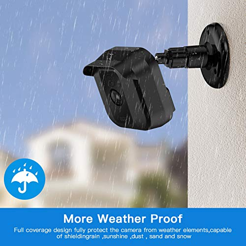 Blink XT XT2 Camera Brackets with Blink Sync Module Outlet Wall Mount, 3 Pack Weather Proof 360 Degree Adjustable Protective Indoor/Outdoor Camera Holder with 1 Pack No Messy Wires WiFi Hub Hanger