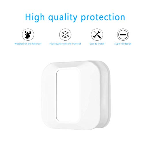 Blink XT2 Camera Cover, Mrount Silicone Weather Proof Anti-Drop UV Protecting Case for Blink XT2 Blink XT Home Security System (White)