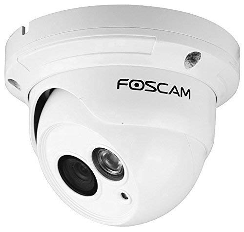Certified Refurbished Foscam FI9853EP Outdoor Weatherproof P2P IP Security Camera with 65ft Night Vision, Motion Detection Alert, Power