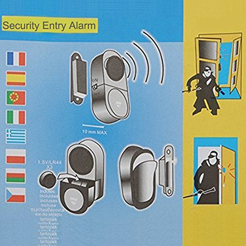 Hiistar Wireless Entry Home Door