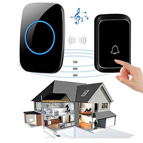 Smart Wireless Doorbell 58 Songs Optional 300M Distance Waterproof Home Security Door Bell