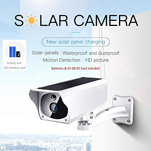 Solar Security Camera Home Surveillance