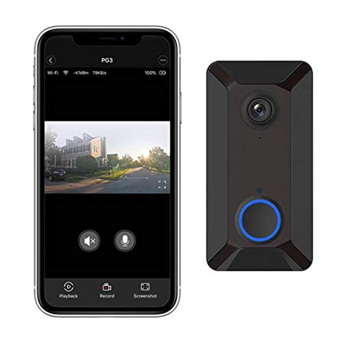 V6 Wireless WiFi Smart Doorbell Remote Video Monitor Intercom Kits