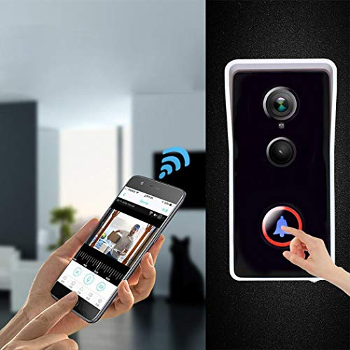 Whatyiu WiFi Infrared Night Vision Waterproof Anti-Theft Remote Video Visual Doorbell with User Manual