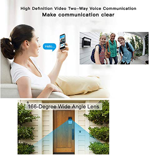 WiFi Smart Video Doorbell, SURUN