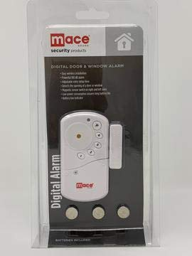 Wireless Digital Door/Window Burglar Alarm with Programmable Security Keypad by Mace