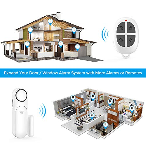 Door Window Alarm, Remote