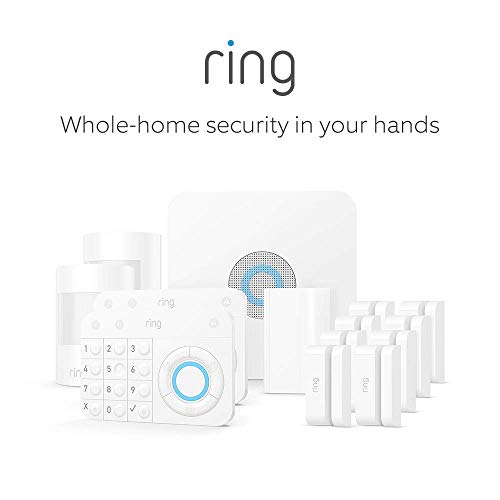 Ring Alarm 14 Piece Kit - Home Security System with optional 24/7 Professional Monitoring - No long-term contracts - Works with Alexa