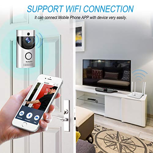 WiFi Smart Video Doorbell,EwiseeLive