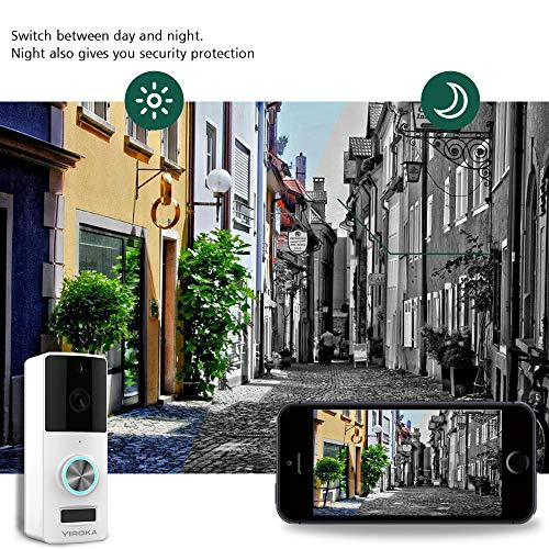 Wireless Video Doorbell, YIROKA