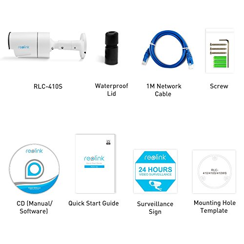 Reolink IP PoE Security Camera