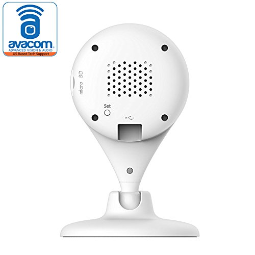 360 Smart Home HD Camera - Wireless IP Security Surveillance, IR Night Vision Sensor, Wide Angle lens, Face Recognition and Motion Sensor