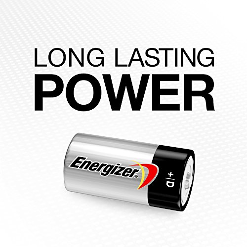 Energizer D Cell Batteries, Max
