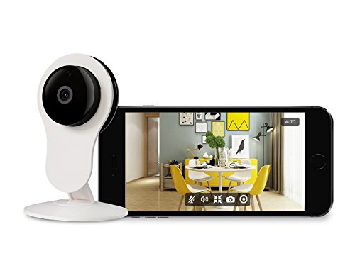Wireless Home Security IP Camera - HD 1080P Surveillance Home WiFi Camera with Motion Detection,Night Vision and Two-Way Audio Support 32G TF Card for Baby/Elder/Pet Monitor Enjoy 1-Year Warranty
