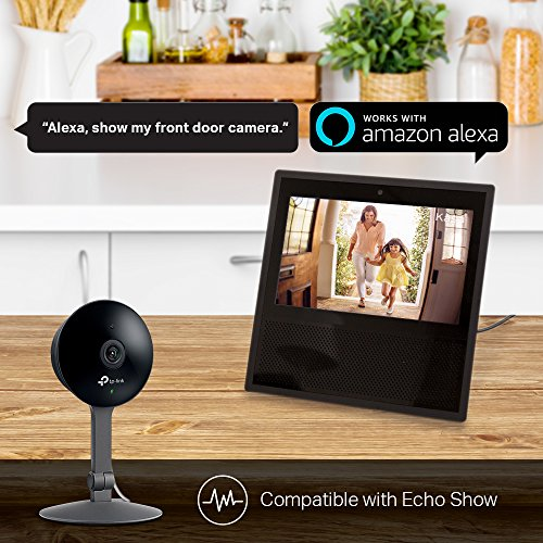 TP-Link Kasa Cam 1080p Smart Home Security Camera, Works with Amazon Alexa (Echo Show/Fire TV Required), KC120