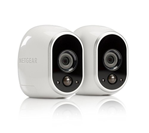 Arlo by NETGEAR - 2 Add-On Wire-Free HD Security Cameras | Indoor/Outdoor | Night Vision (VMC3230B-100NAS) - Brown Box