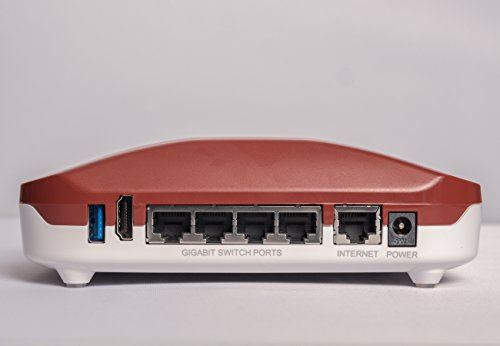 Roqos Core -Ruby- Next Generation, Intrusion Prevention, Parental Controls, Firewall WiFi VPN Router - Protect Your Kids, Devices From Malware, Hackers, Bad Sites - Replace Your Router Or Plug Into It