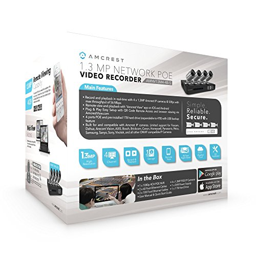 Amcrest Full-HD Video Security System
