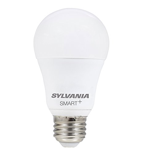 SYLVANIA SMART+ Bluetooth Full Color A19 LED Bulb, Works with Apple HomeKit and Siri Voice Control, No Hub Required for Set Up