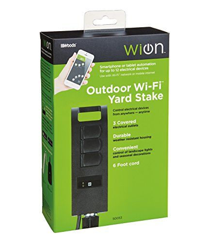 WiOn 50053 Outdoor Wi-Fi Plug-In