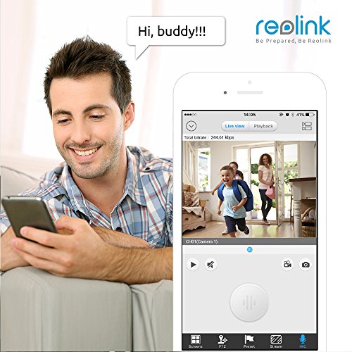 Reolink Argus 100{4d23506f2cf001f37f5d6c3195fae9409c0e40a95273e5e30fbabb68bf96588b} Wire-Free Battery-Powered